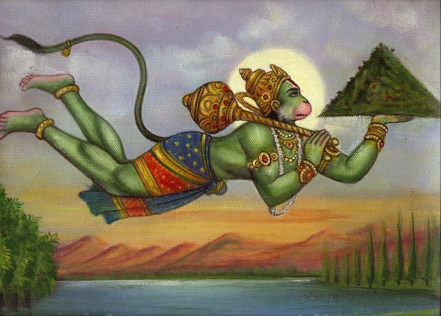 Hanuman, son of Anjana and Kesari, is actually an avatar of Lord Shiva