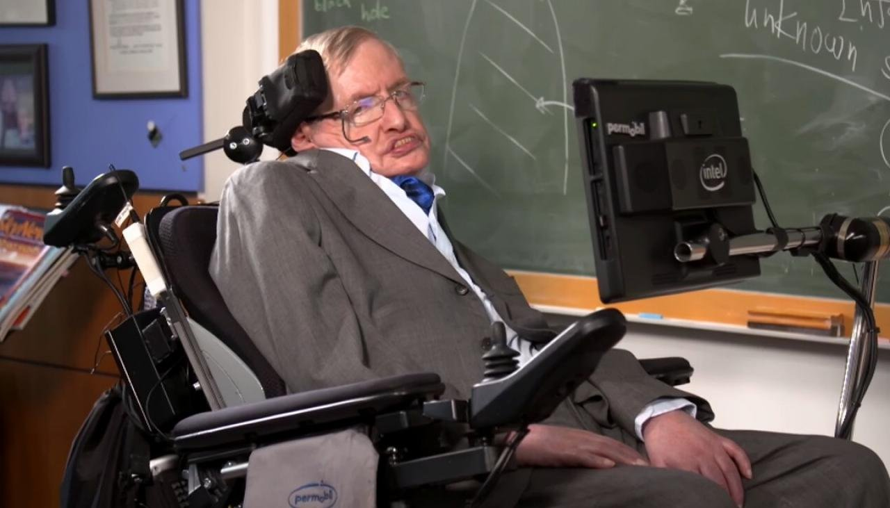Stephen Hawking was born on Galileo
