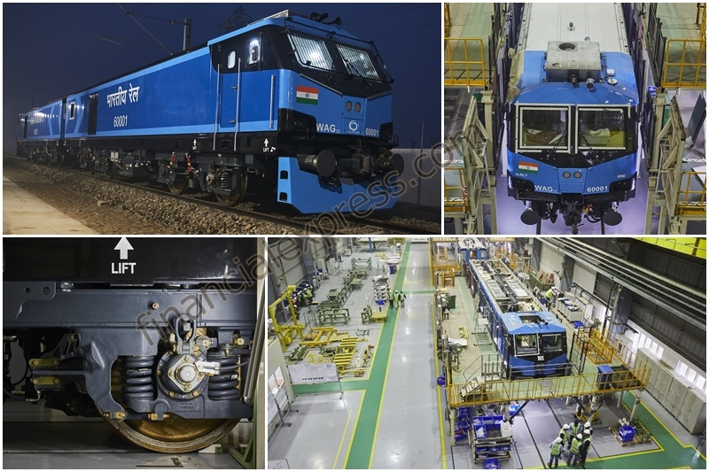 Indian Railways gets new electric locomotives! As part of a 3.5 billion euros