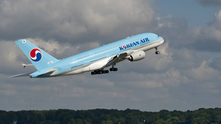Korean Air | Ranked at the 10th spot, Korean Air owns 164 aircraft (138 passenger and 26 cargo) and operates scheduled flights to 123 cities in 43 countries worldwide, including 13 cities in South Korea. As of 2016, the carrier served about 28 million passengers annually with a reported operating revenue of $10.8 billion.
