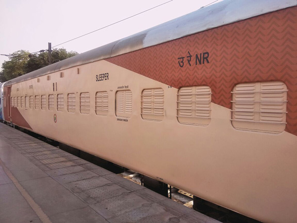 Indian Railways underwent a makeover after a long time. Railways painted its selected train coaches in vibrant colours. They have given a new look to the coaches with the help of National Institute of Design, Ahmedabad.