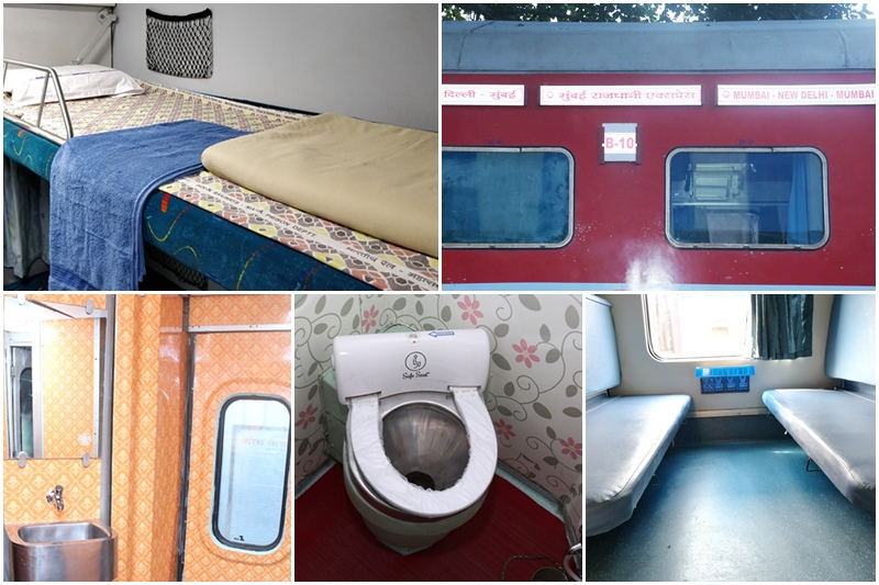 Mumbai-Delhi Rajdhani Express has been revamped under Indian Railways