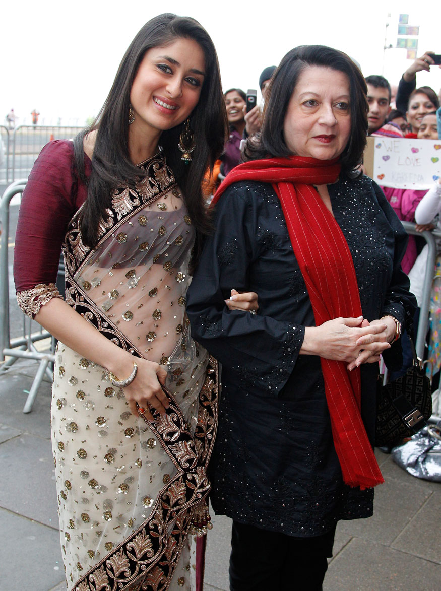 Kareena Kapoor Khan and Babita Kapoor.