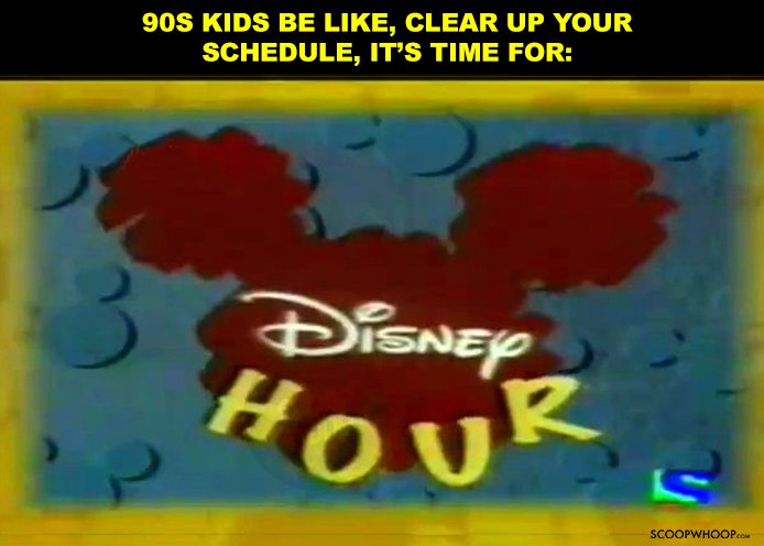 1. Kids have an entire Disney empire. We had this.