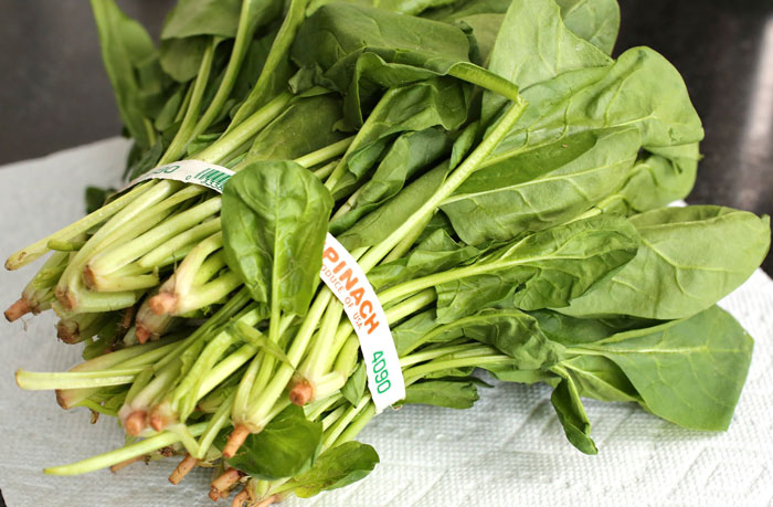 1. Spinach