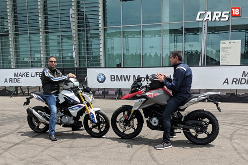 BMW G 310 R, G 310 GS will be offerd with 3 years unlimited factory warranty that can be extended to 4 or 5 years.
