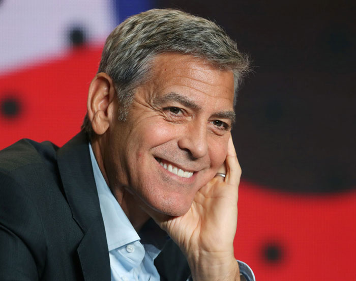 1. George Clooney is the world