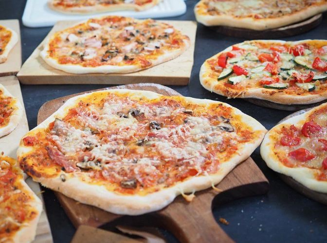 """1. The word """"Pizza"""" was first documented around 997 AD in Gaeta, Italy. After that, the name started to spread to different parts of central and southern Italy."""