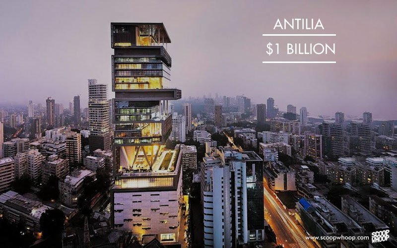 Antilia, 1 billion USD