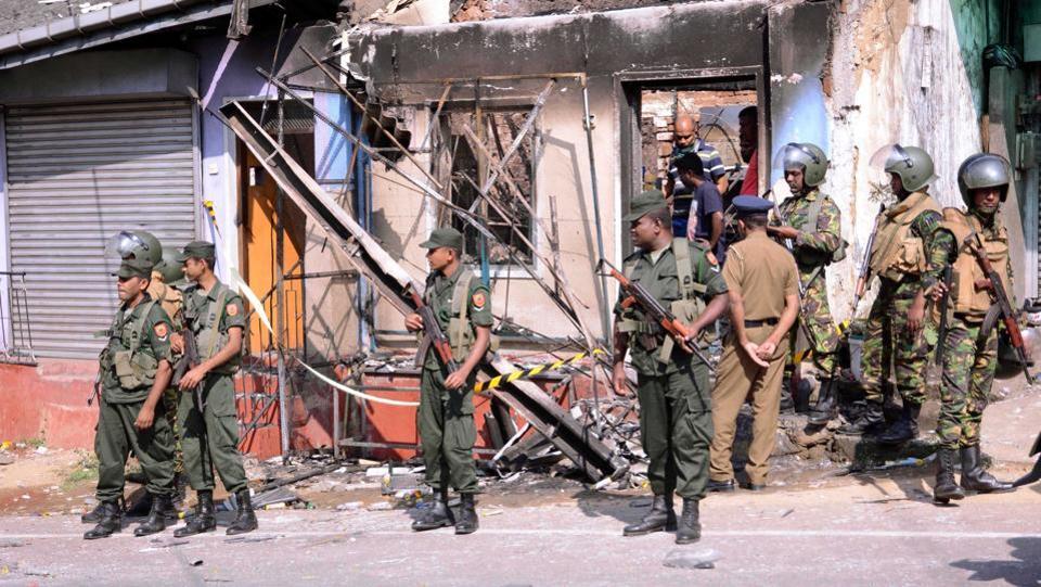 vSri Lanka declares state of emergency after anti-Muslim violence