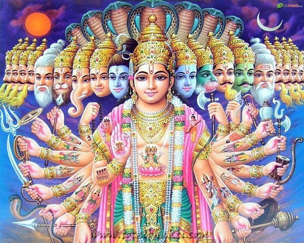 Hinduism actually believes in only one god, but in many forms