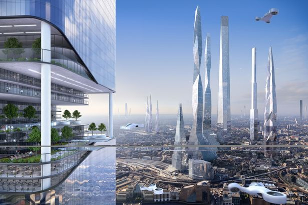 Skyline: Huge buildings could be the living spaces of the future