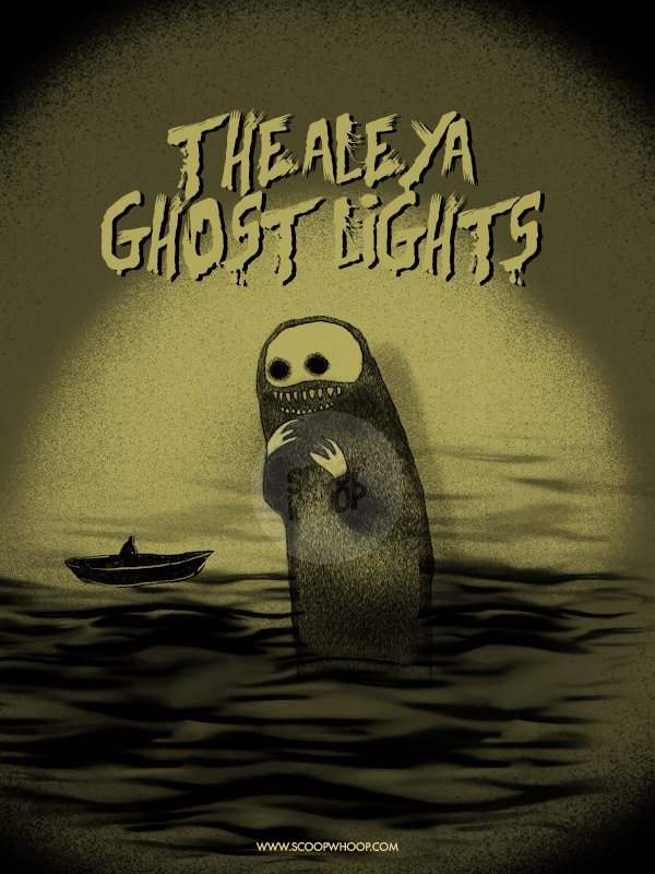 2. The Aleya Ghost Lights - Lead people off the safe path and to their doom.
