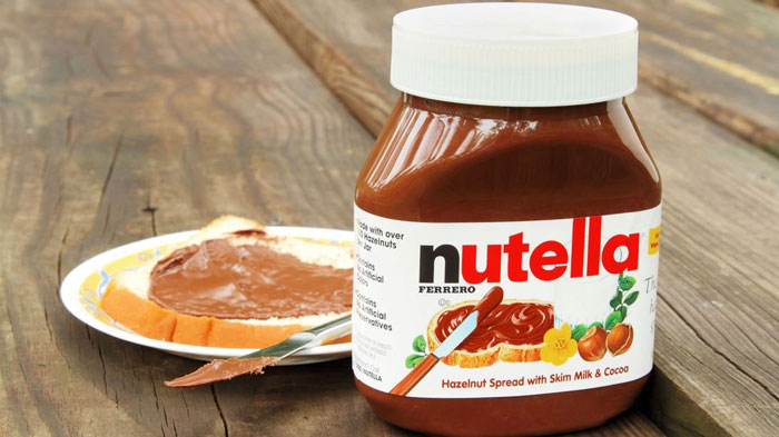 2. Getting paid to taste Nutella