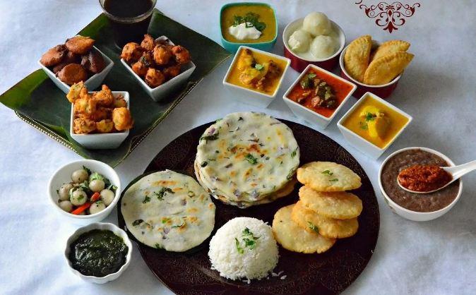 2. Chhattisgarhi Thali Chattisgarhi thalis are a long, drawn out yet totally delicious affair. You