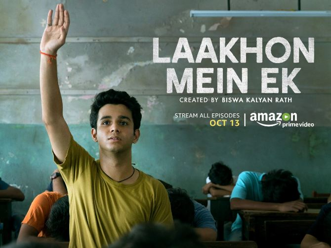 2. Laakhon Mein Ek Season 1: Available on Amazon Prime Video Developed by comedian and former IITian Biswa Kalyan Rath, the first season of Laakhon Mein Ek also presents the harsh reality of the entrance exam system in Kota. Starring Ritwik Sahore in the lead role, the show is equally emotional and humorous and ends on a haunting note that ensures the story stays with you long after the series gets over.