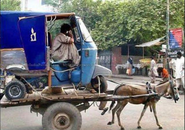 Modern day Auto Rickshaw