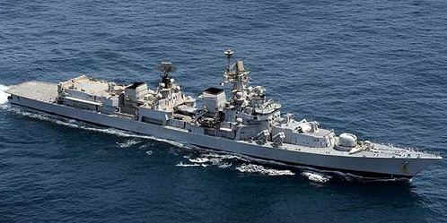3)INS Mumbai (D62) Delhi-Class Guided missile Destroyers,Indian Navy