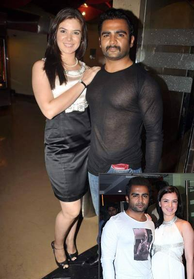 Urvashi Sharma with Sachiin Joshi