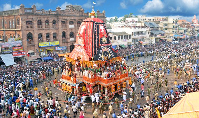 See the Majestic Puri Rath Yatra at Puri