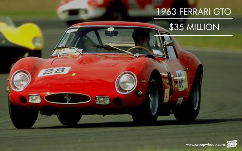 1963 Ferrari GTO, 52 million USD