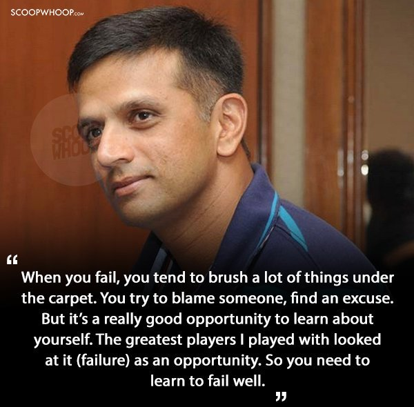 3.Quotes By Rahul Dravid