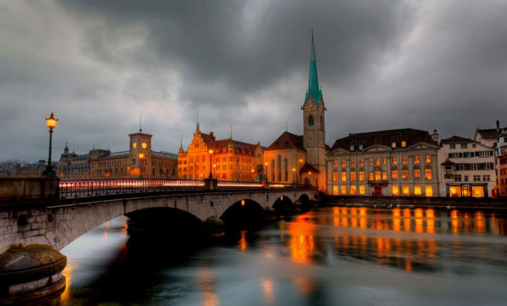 3. Zurich, Switzerland