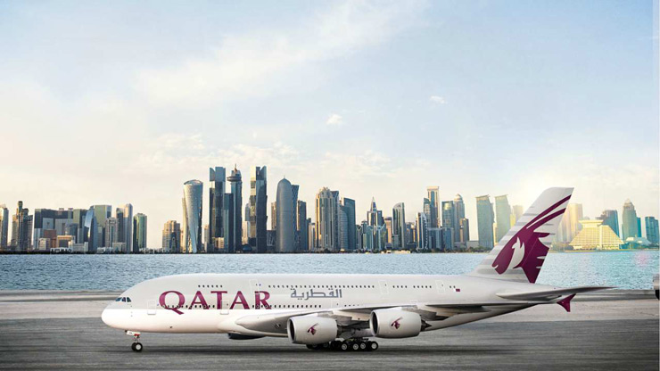 Qatar Airways | Only the third five-star rated airline in the list, the carrier serves 150 destinations across the six continent. Based in Hamad International Airport in Doha, it employs over 46,000 staff globally. Started in 1997, Qatar Airways claims itself to be the world's fastest-growing airline.