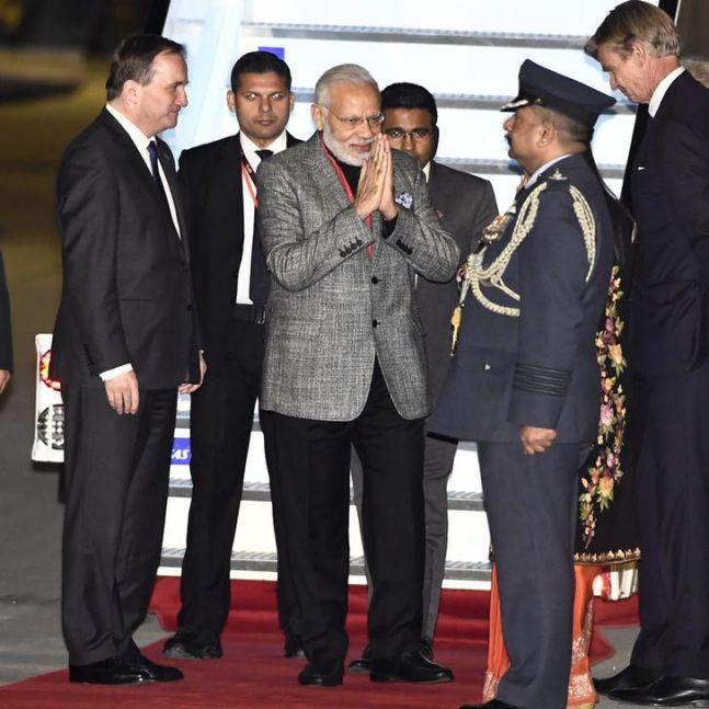 Prime Minister Narendra Modi has never looked so dapper before.