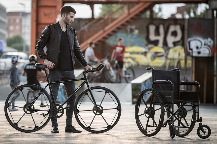 With its collapsible design, the Revolve Folding Wheel makes perfect sense for use with folding bicycles going forward.