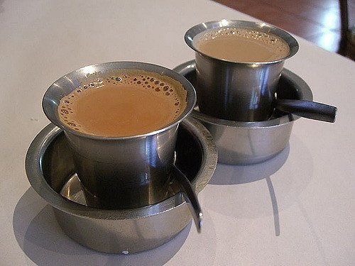 3. A sip of the aromatic Filter Coffee