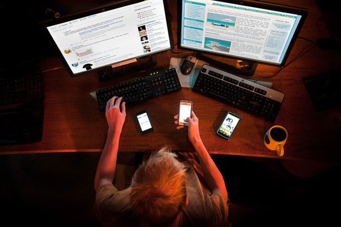 3. Internet addiction refers to an excessive use of the internet that often disrupts your daily life and causes other health problems.