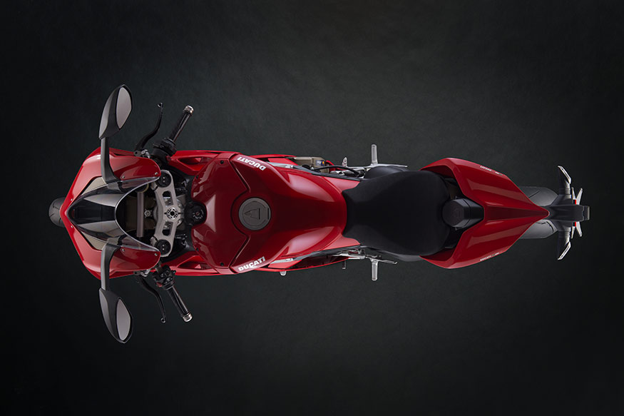 Ducati Panigale V4 from the top.