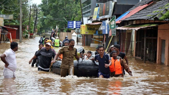 3. Increase the relief given to Kerala flood victims 5 times over.