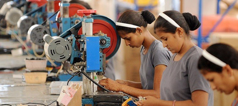3. Female employment in India has fallen from 35% in 2005 to 26% now.