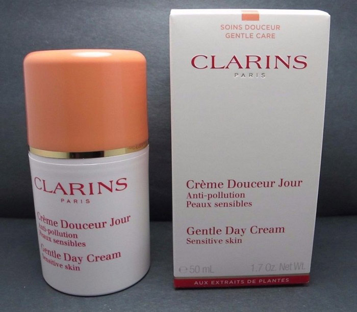 3. Clarins Gentle Day Cream