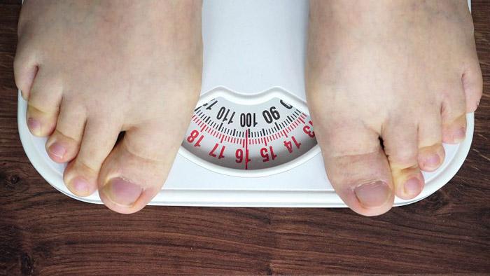 3. Weight gain