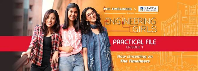 3. Engineering Girls: Available on YouTube Presented by The Timeliners, this web series is a refreshing change because it presents the misadventures of college life and engineering from the point of view of girls and not guys. The starcast definitely delivers on both, comical punches and emotional speeches. This is one of those series where a nostalgia trip is guaranteed.