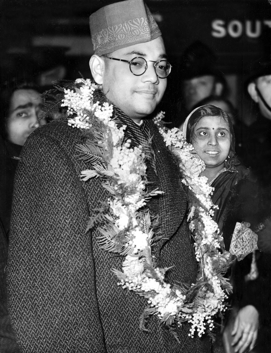 Subhas Chandra Bose, an Indian nationalist who fought the British during the Second World War