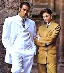 Arjun Rampal and Aishwarya Rai in the beginning days of their modelling career