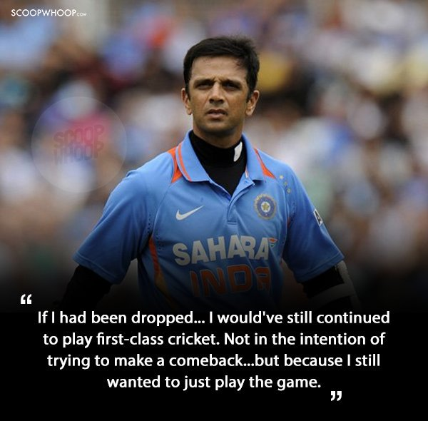 4.Quotes By Rahul Dravid