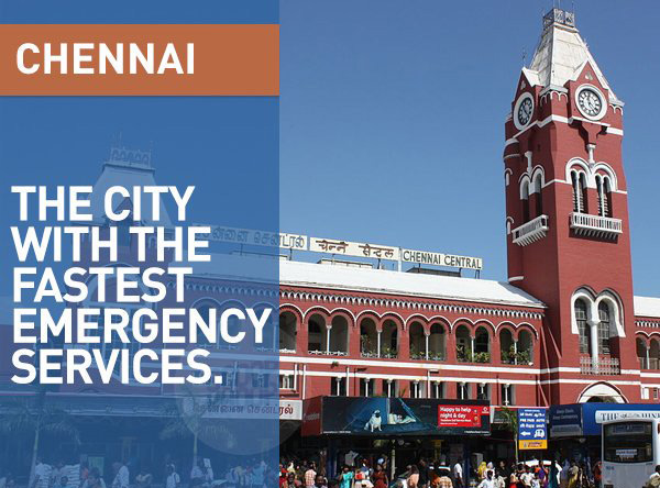 Ditched by a flat tyre? Fret not, the emergency services in Chennai are as fast as The Flash himself.