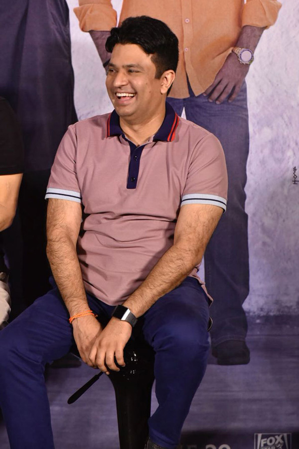 Bhushan Kumar attends the trailer launch of