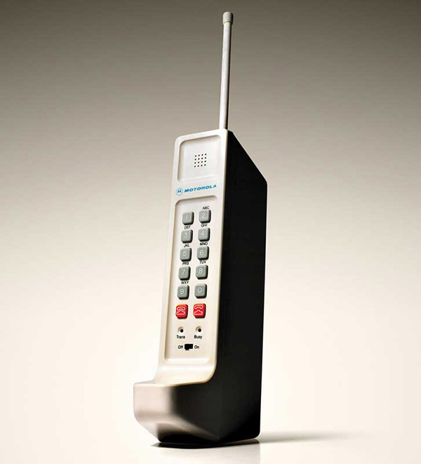 4. In 1983, the first mobile phone went on sale in the U.S. at almost $4,000 each.