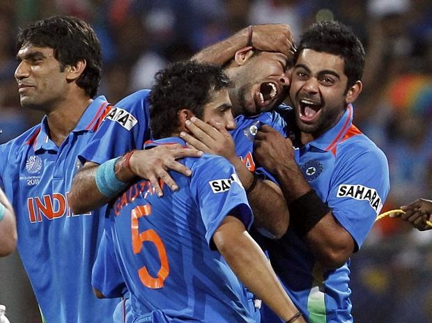 YUVRAJ, KOHLI AND GAMBHIR PLAYED A SIGNIFICANT ROLE IN INDIA