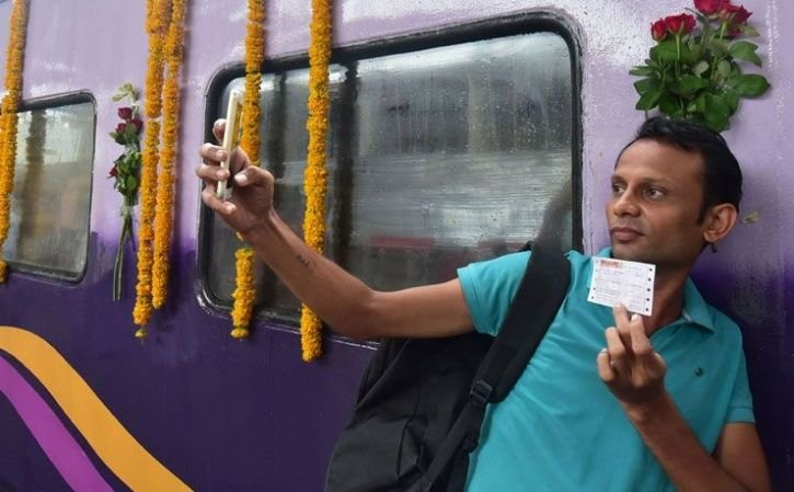 4. The one when you buy your first railway ticket with your own money.