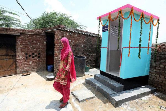4. Building working toilets