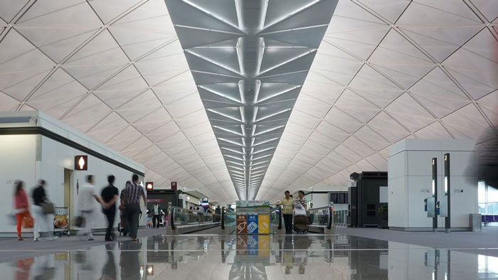 4. Hong Kong International Airport, Hong Kong