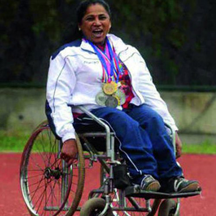 4. Malathi Krishnamurthy Holla suffered paralysis when she was a child, but she went on to win over 400 medals in various athletic events.