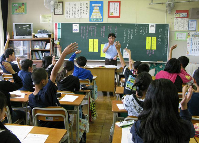 4. Japanese schools teach Moral Education at par with other subjects like Mathematics.